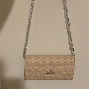 Blush pink Valentino wallet purse